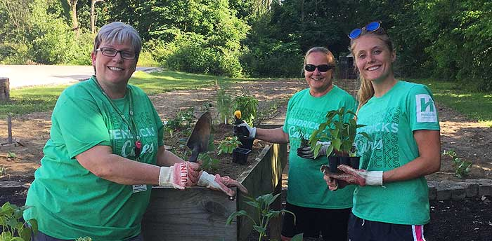 Hendricks Regional Health volunteers